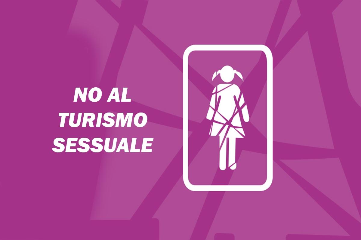 no al turismo sessuale